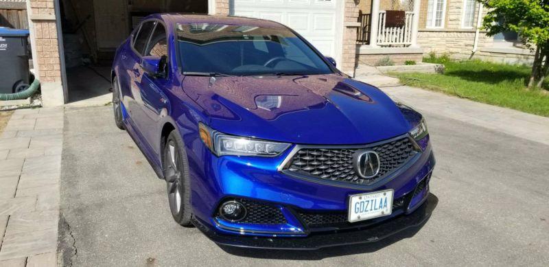 2018 Acura Tlx Aspec Front Splitter