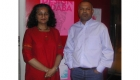 South Africa - Cape Town - Venu with the Director of the Design Indhaba - Ravi Naidoo