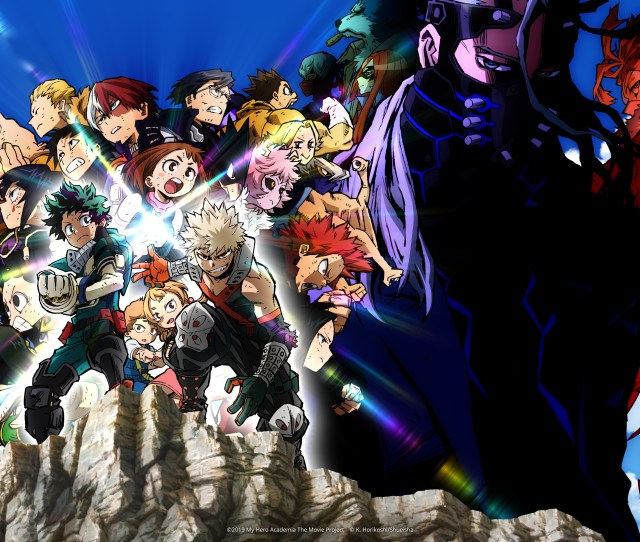 My Hero Academia Heroes Rising Hits North American Theaters Early