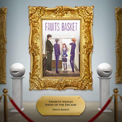 Fruits Basket key art framed