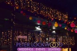 fairy lights at the Picturedome in Holmfirth