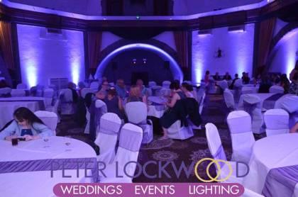 Shrigley Hall Wedding Lighting