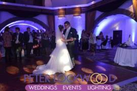 Shrigley Hall Wedding Lighting