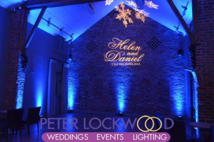 Arley Hall winter wonderland lighting