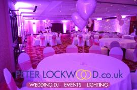 Worsley Park Marriott Wedding Lighting