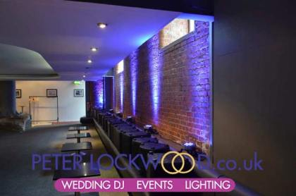 place hotel manchester lower bar wedding lighting