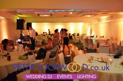novotel worsley wedding lighting