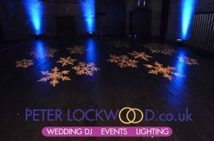 peckforton castle wedding lighting