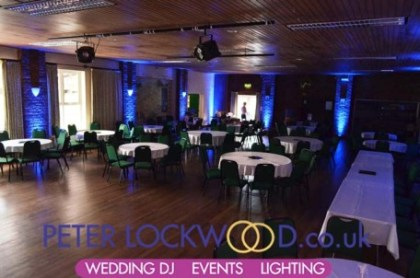 antrobus-village-hall-blue-wedding-lighting