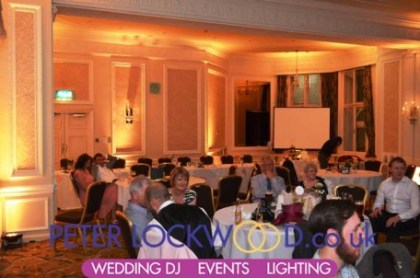 gold-wedding-lighting-hire-in-the-midland-hotel-manchester