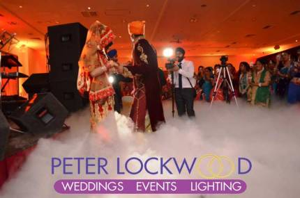 Wedding-first-dance-in-the-clouds-in-Village-Blackpool-Hotel