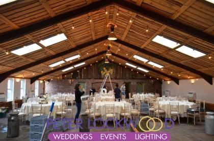 Festoon-Wedding-Lighting-in-Owen-House-Wedding-Barn