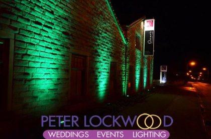 St. Patricks green lighting