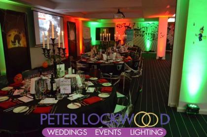 Hotel Football Event Lighting