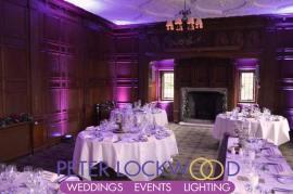 Inglewood Manor Wedding Lighting