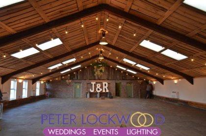 festoon lighting in owen house