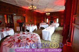 Inglewood Manor Wedding Lighting.