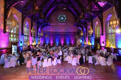 rochdale town hall uplighting hire