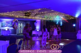 swindon golf club fairy light canopy