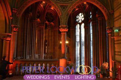 wedding mood lighting