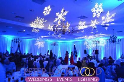 winter wonderland wedding-lighting Kilhey Court Hotel Wigan