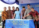 Ground Breaking The Cityland Apartment & Hotel Jatibening