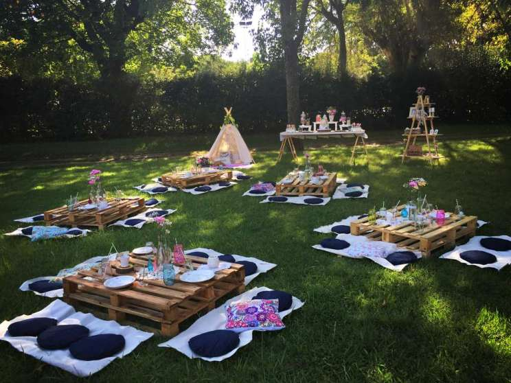 Camping Theme Birthday Party 12