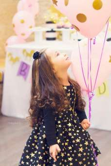 Unicorn Theme Birthday Party - Birthday Girl