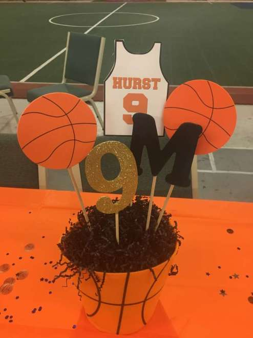 Basketball Theme Birthday Party Decoration 1