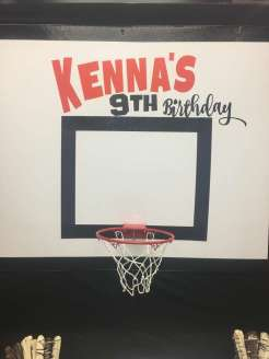 Basketball Theme Birthday Party Decoration 2