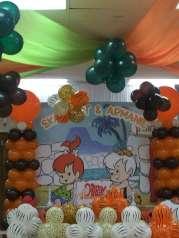 Flintstones Pebbles and Bamm Bamm Theme Party Decoration 7