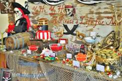 Pirate Theme Birthday Party Decoration 3