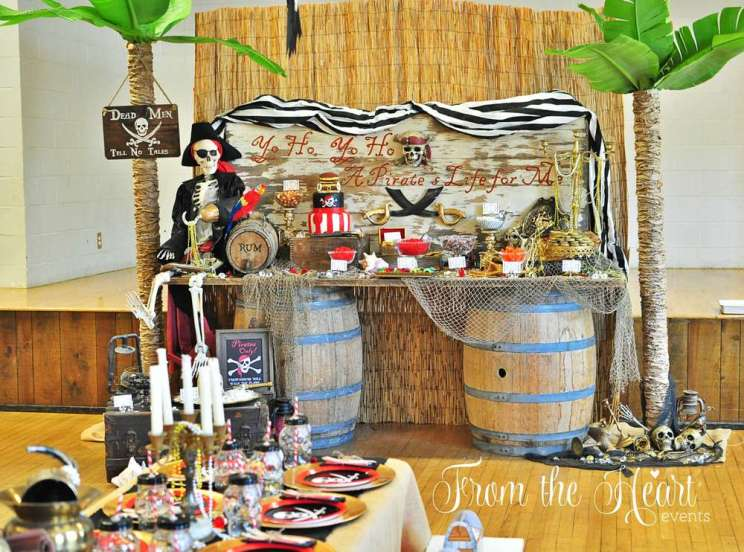 Pirate Theme Birthday Party Venue 2