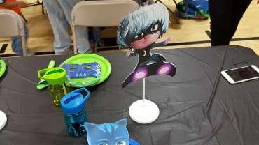 PJ Masks Theme Birthday Party Decoraiton 6