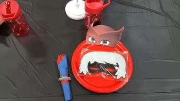 PJ Masks Theme Birthday Party Decoration 8