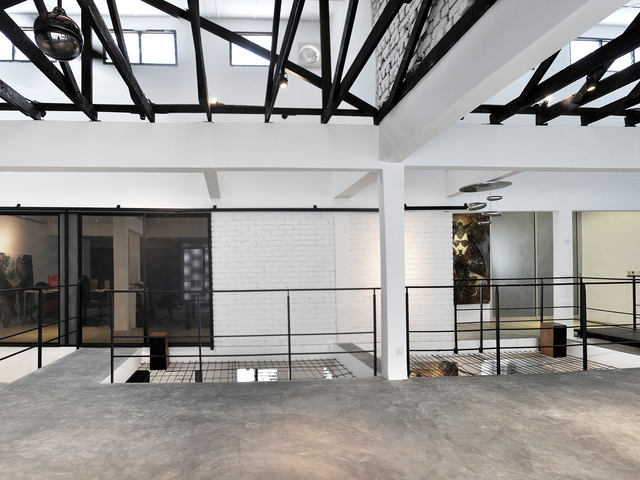 minimalist event space by core design gallery