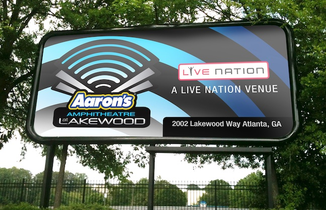 Naming Rights: Sonoma (Calif.) Raceway and Aaron's Amphitheatre in Atlanta
