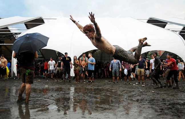 Reporter's Notebook: The Lollapalooza Evacuation