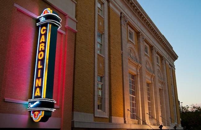 Carolina Theatre Extends Contract