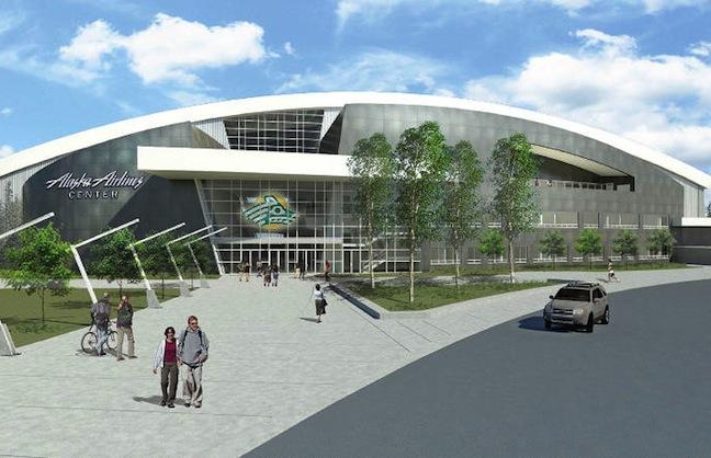 Alaska Arena Prepares to Soar