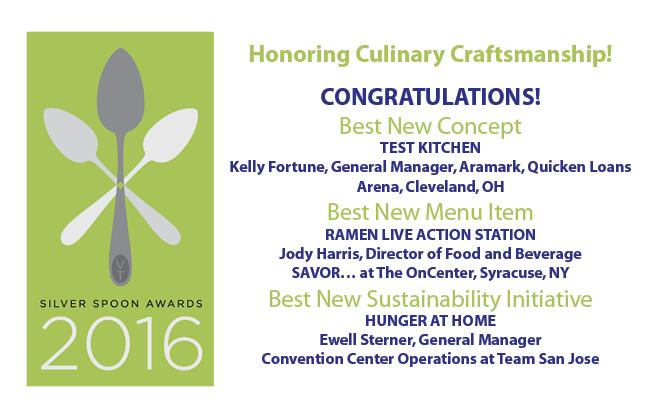 Congratulations 2016 Silver Spoons Award Winners!