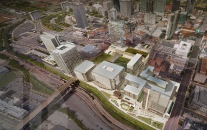 AEG Plans Nashville Yards