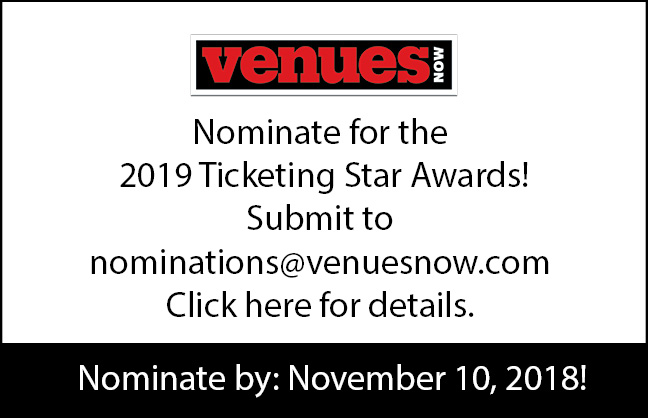 Nominate for the 2019 Ticketing Star Awards!