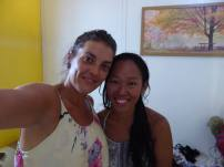 Heloise, my roommate in Moalboal