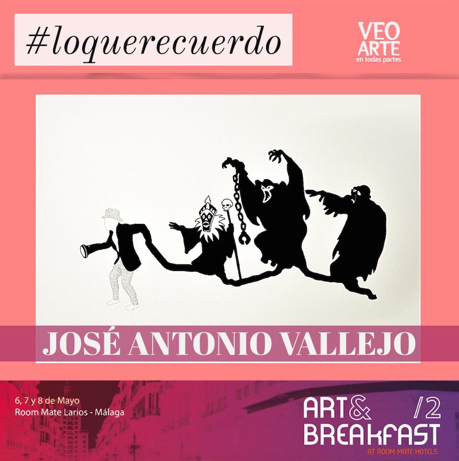 - José Antonio Vallejo - artandbreakfast - veoarte