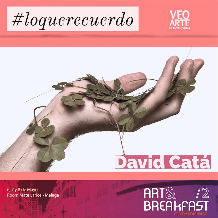 David Catá - artandbreakfast - veoarte