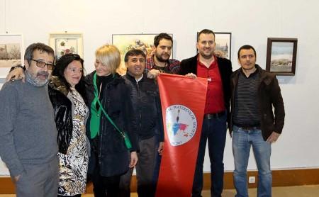 Javier Miranda, Isabel Alosete, Aleksandra Bryksa, Atanur Dogan, Daniel Miranda, Pablo Rubén y Cesc Farré.