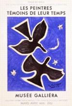 Les Peintres Temoins de leur Temps, Musee Galliera, Original Color Lithograph