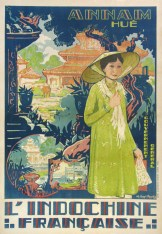 L'Indochine Francaise, Original Color Poster