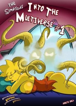 Los simpsons en el multiuniverso crossover porno